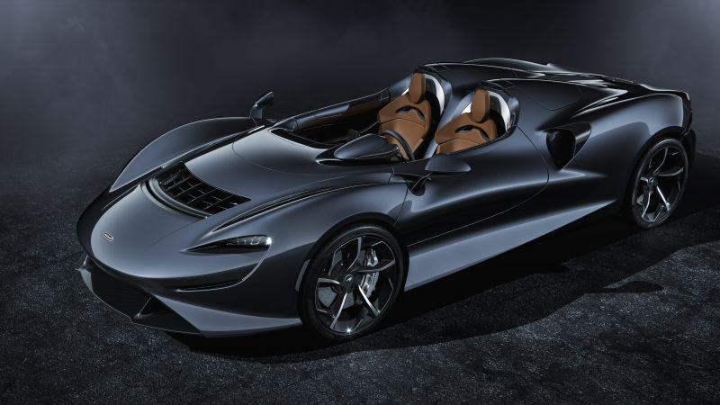 McLaren Elva, Sports cars, Black Edition, 2020, 5K, Wallpaper