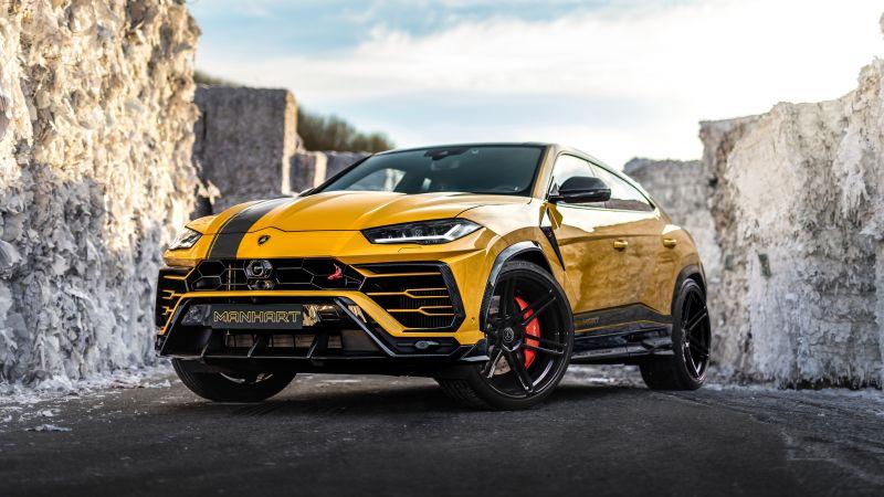 Lamborghini Urus, Manhart Performance, 5K, Wallpaper