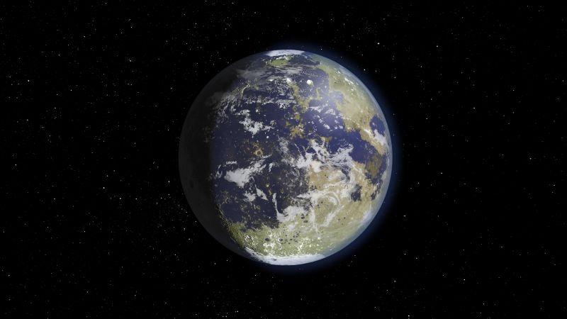 Moon, Earth, Atmosphere, 8K, Wallpaper