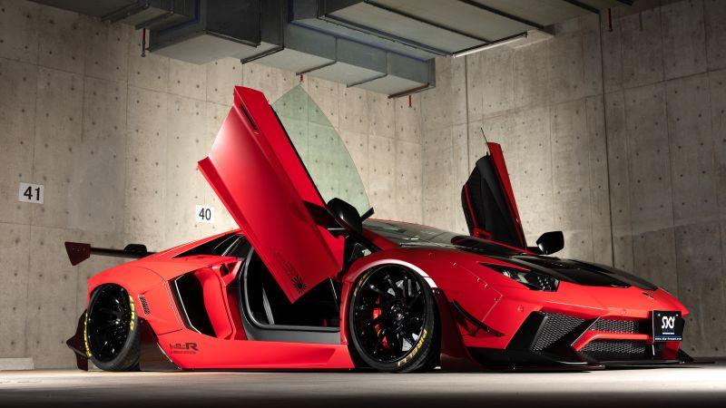 Lamborghini Aventador, LB Performance, Limited edition, Hyper Sports Cars, 5K, Wallpaper