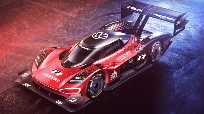 Volkswagen I.D. R, Prototype, Electric cars, Electric Sports cars, Wallpaper