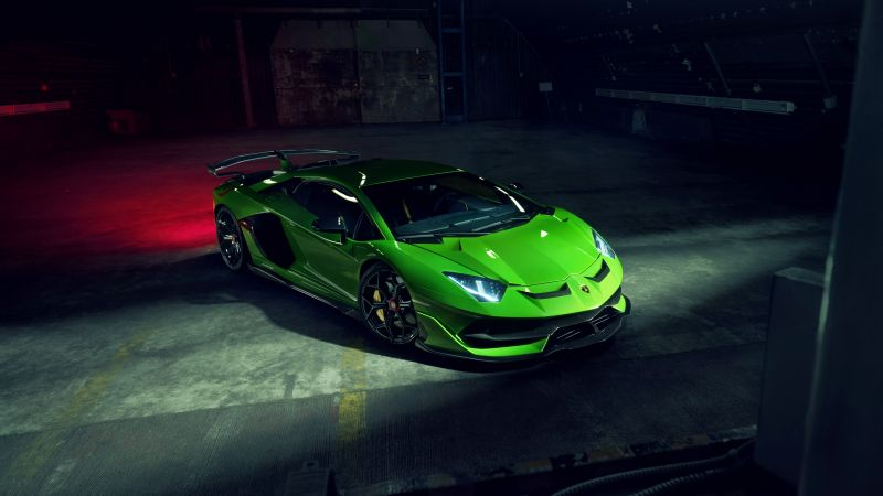 Lamborghini Aventador SVJ, Novitec, 5K, Wallpaper