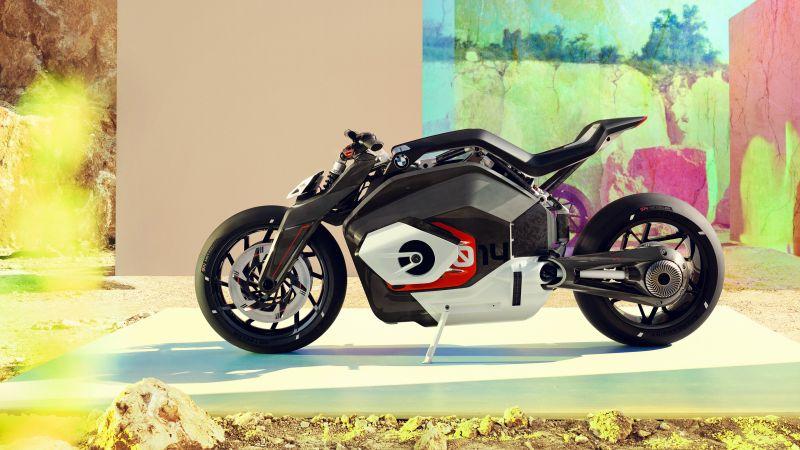 BMW Vision DC Roadster, Electric bikes, Concept bikes, Wallpaper