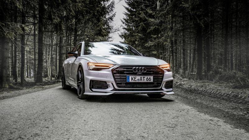 Audi A6, ABT Sportsline, Monochrome, Wallpaper