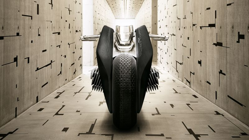 BMW Motorrad VISION NEXT 100, Electric bikes, Concept bikes, Wallpaper