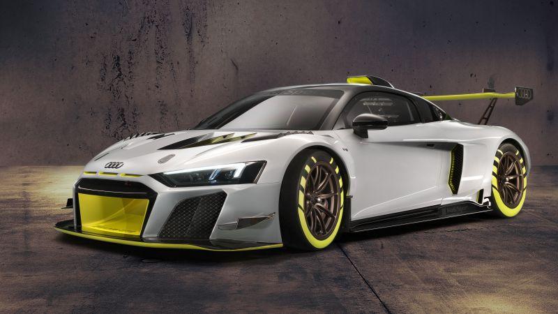 Audi R8 LMS GT2, Sports cars, 5K, Wallpaper