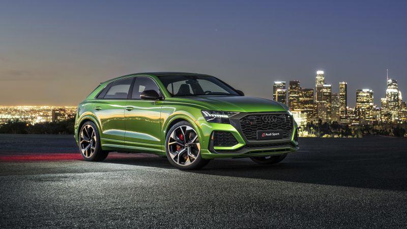 Audi RS Q8, Luxury SUV, 2020, 5K, Wallpaper