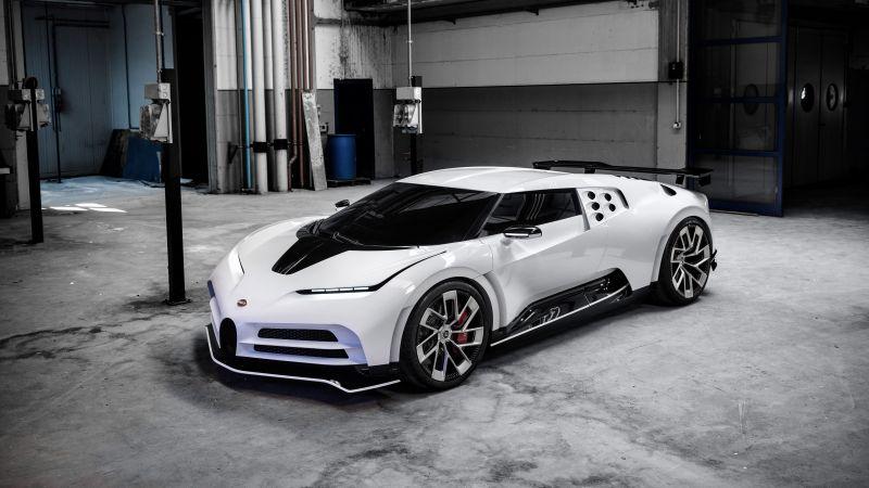 Bugatti Centodieci, Sports cars, Supercars, Hypercars, 5K, 8K, Wallpaper