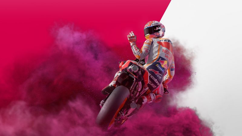 MotoGP, PlayStation 4, Nintendo Switch, Xbox One, PC Games, Wallpaper