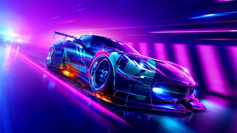 Need for Speed Heat, Chevrolet Corvette Grand Sport, PlayStation 4, Xbox One, PC Games, Wallpaper