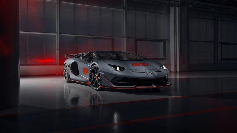 Lamborghini Aventador SVJ, 5K, 8K, 2020, Wallpaper