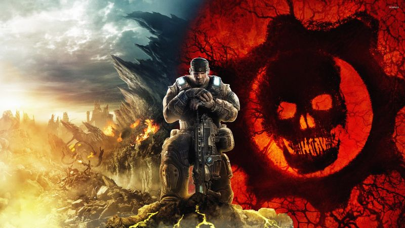 Gears of War 5, Marcus Fenix, Gears 5, Xbox One, Xbox Series X, PC Games, Wallpaper