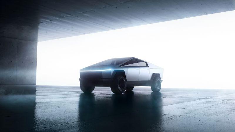 Tesla Cybertruck, Prototype, Wallpaper