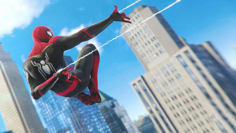 Spider-Man, PlayStation 4, Spider-Man: Far From Home, Wallpaper