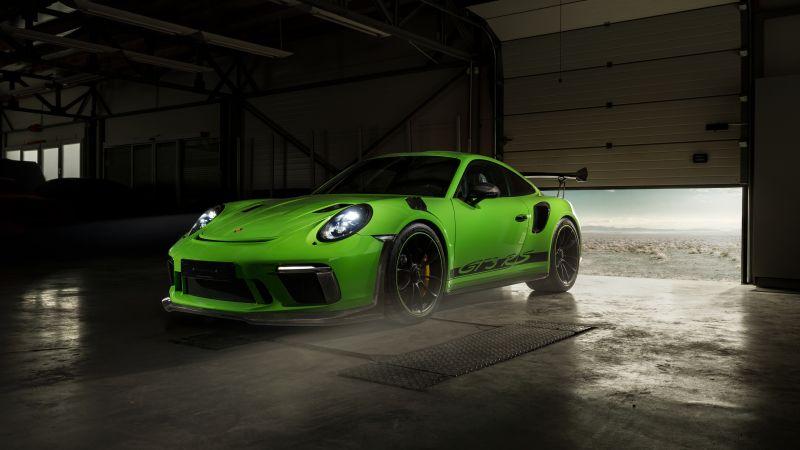 Porsche 911 GT3 RS, TechArt, Custom tuning, Wallpaper