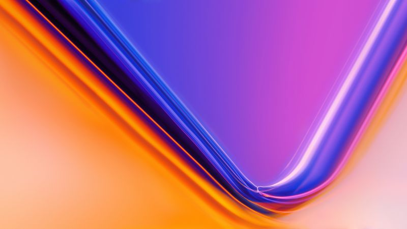 OnePlus, Stock, OnePlus 7, Gradient background, Wallpaper