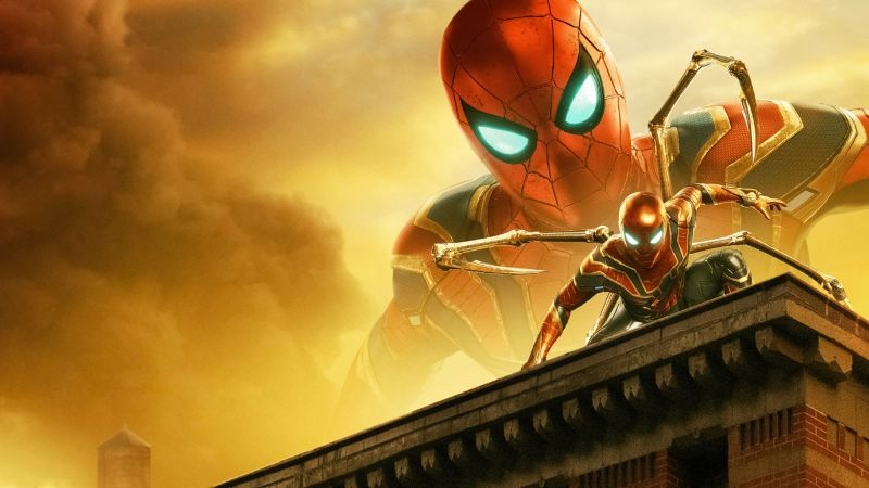 Spider-Man: Far From Home, Iron Spider, Wallpaper