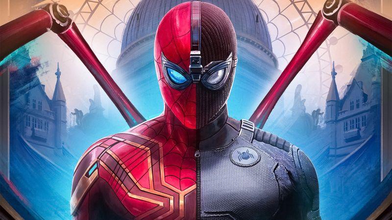 Iron Spider, Spider-Man: Far From Home, Marvel Comics, Spider-Man, Wallpaper