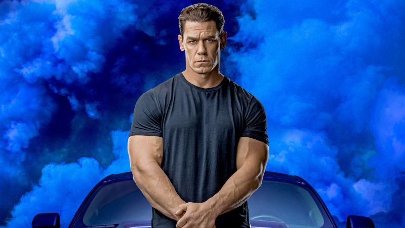 John Cena, Fast & Furious 9, F9, 2020 Movies, Wallpaper