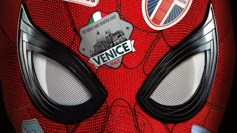 Spider-Man: Far From Home, 5K, Wallpaper