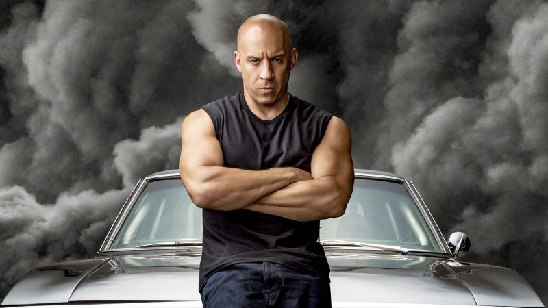 Vin Diesel, Dominic Toretto, Fast & Furious 9, F9, 2020 Movies, Wallpaper