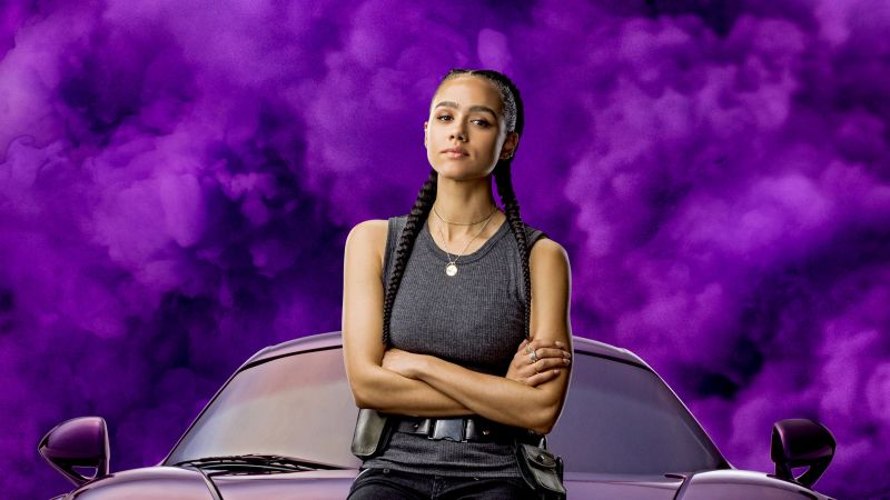 Nathalie Emmanuel, Fast & Furious 9, F9, 2020 Movies, Wallpaper