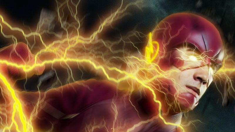The Flash, DC Superheroes, DC Comics, Cosplay, Wallpaper