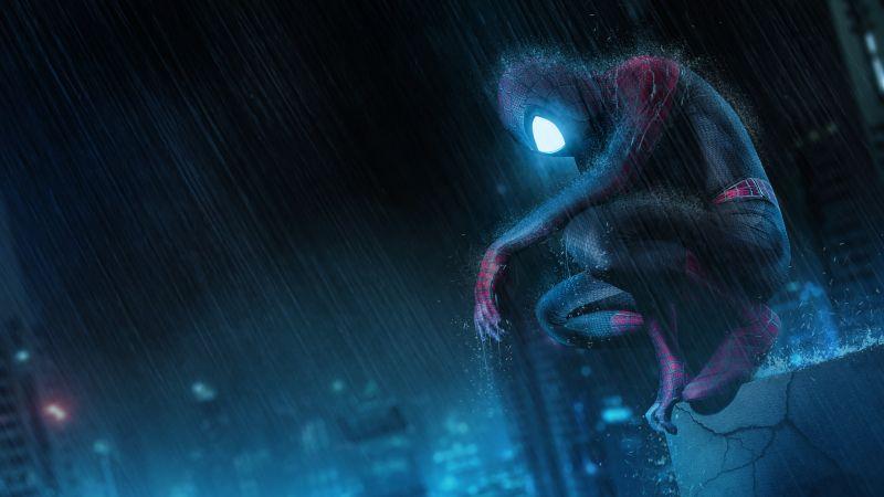 Spider-Man, Neon, Marvel Superheroes, Cosplay, Wallpaper