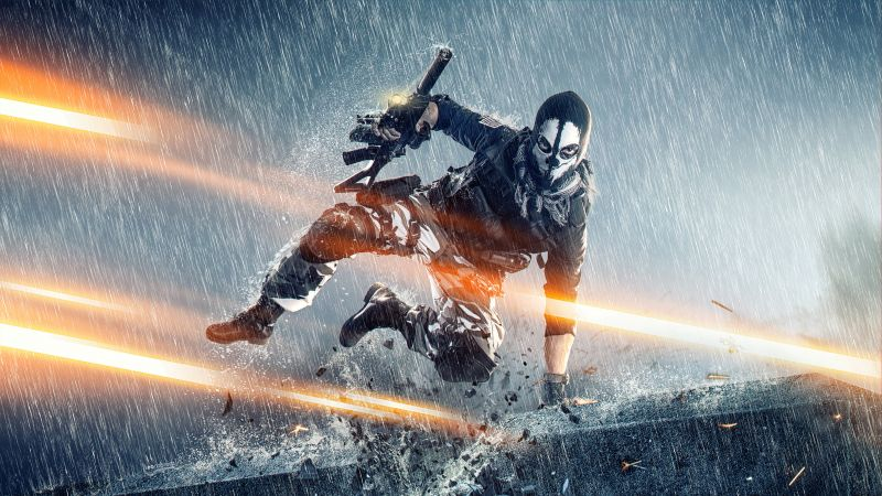 Ghost, Logan Walker, Call of Duty: Ghosts, Cosplay, Wallpaper