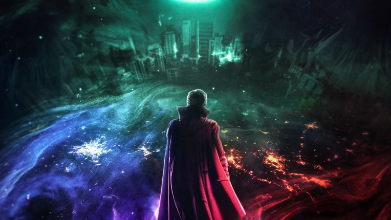 Doctor Strange in the Multiverse of Madness, 2022 Movies, Marvel Comics, Wallpaper