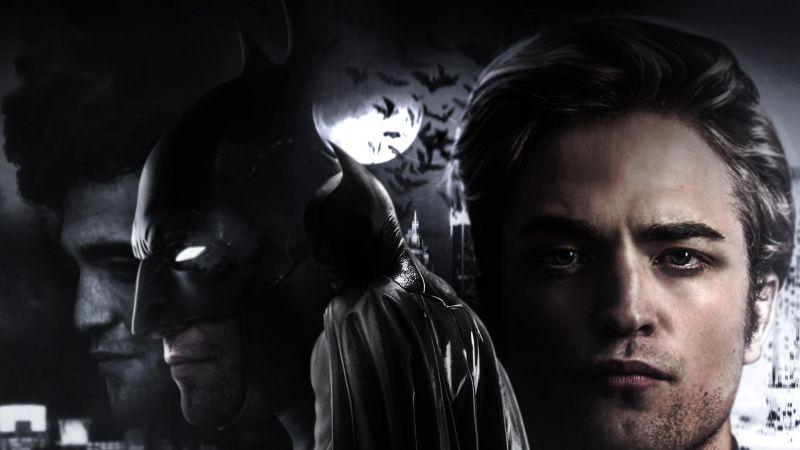 The Batman, Robert Pattinson, 2021 Movies, DC Comics, Wallpaper