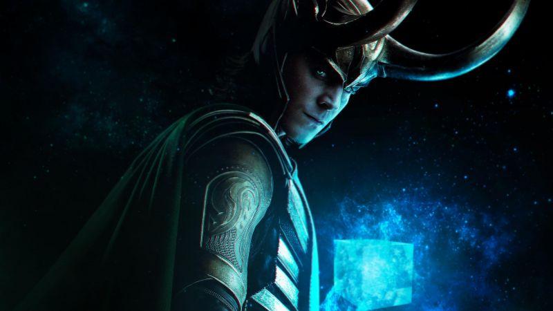 Loki, TV series, 2021, Tom Hiddleston, Marvel Comics, Wallpaper