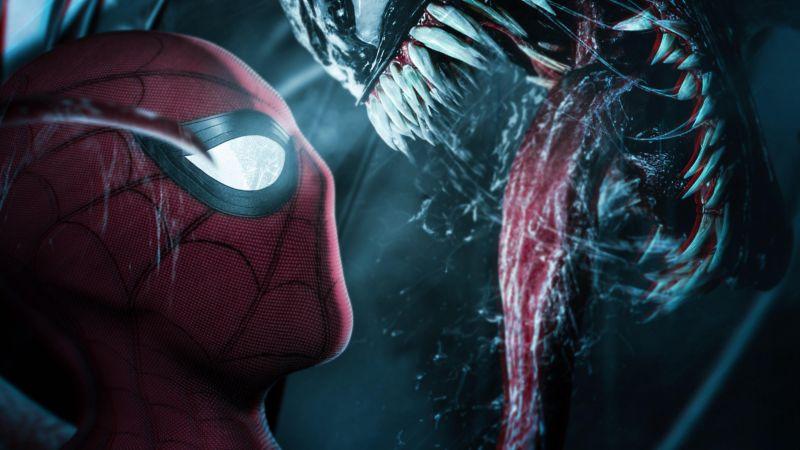 Spider-Man, Venom, Marvel Comics, Wallpaper