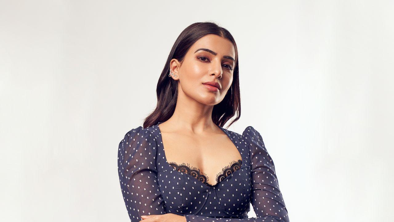 Samantha 4K Wallpaper, Telugu actress, Tamil actress ...