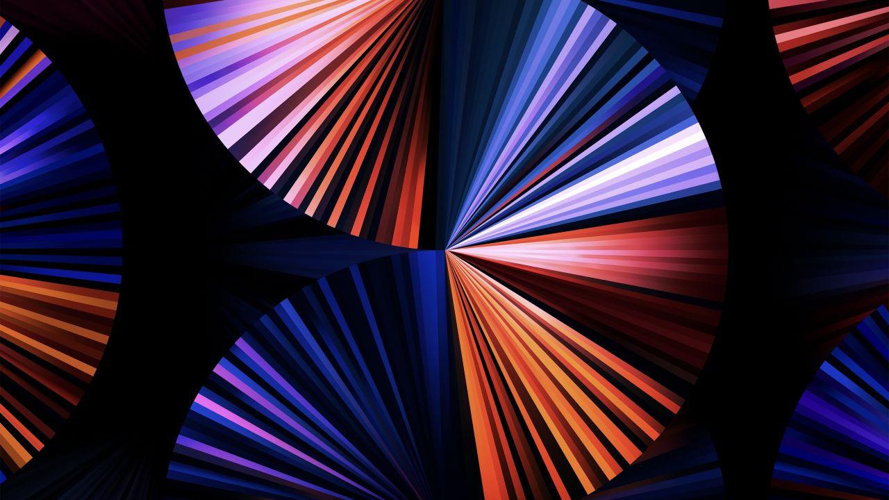 iPad Pro 2021 4K Wallpaper, Apple Event 2021, Purple, Dark ...