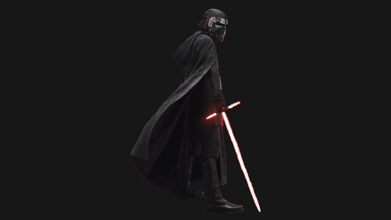 Kylo Ren 4k Wallpaper Star Wars The Rise Of Skywalker Black Background 5k 8k Movies 873