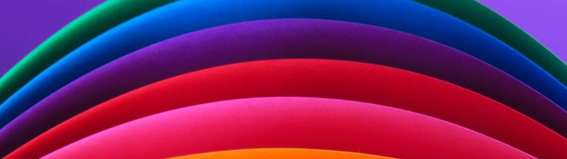 Artwork, Rainbow colors, Colorful background, Multicolor, Curves, Pattern, Texture, Sequence, Vibrant, 5K