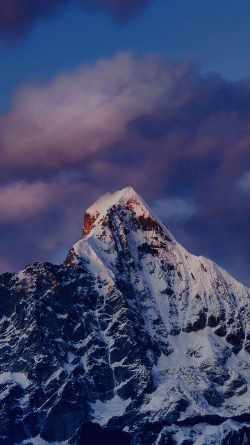 Mount Siguniang, Mi Pad 5 Pro, Qionglai Mountains, Evening, Dusk, Peak, Stock, Aesthetic