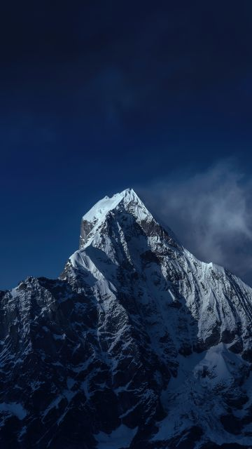 Mount Siguniang, Mi Pad 5 Pro, Qionglai Mountains, Night, Cold, Peak, Stock